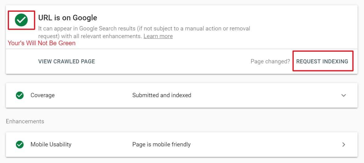index backlinks in Google