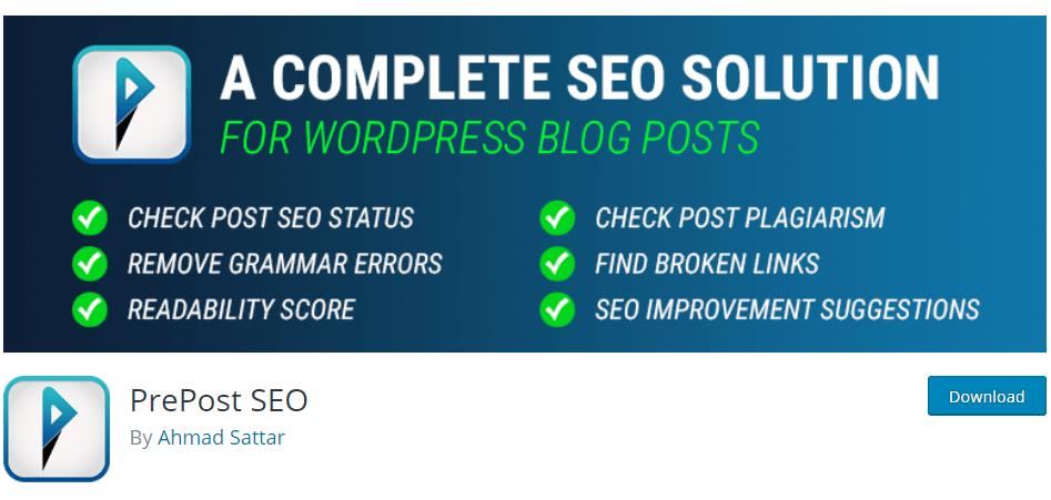 Top 5 SEO friendly WordPress plugins for online startups PrepostSEO