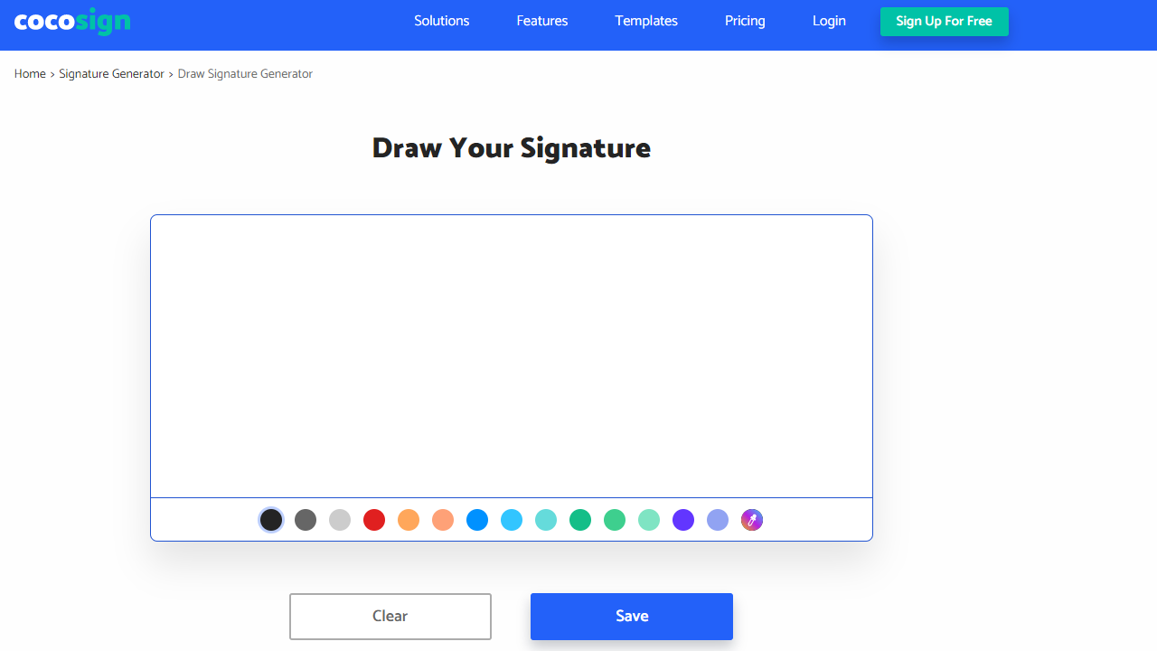 How to Find A Secure Service for Online Signature